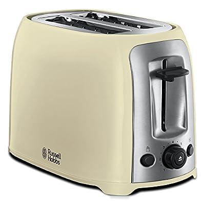 Russell Hobbs 23863 Darwin 2-Slice Toaster, Cream