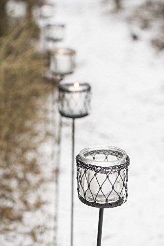 Ib Laursen Lampe de Jardin Haute Noir