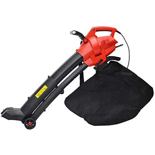 Find Bargain 3 in 1 Electric Garden Leaf Blower/Vacuum Shredder,6-Speed Variable Control - with Coll...