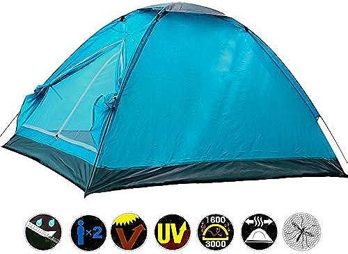 GoodGoodstudy Tente de Camping en Plein air Anti-Fissuration Double Double Couche Simple imperméable à la Pluie Wild Camping Park Leisure Tent