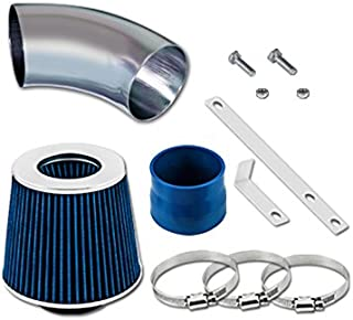 RL Concepts Blue Short Ram Air Intake+Filter For 98-05 BMW E46 323/325/328/330 All Models