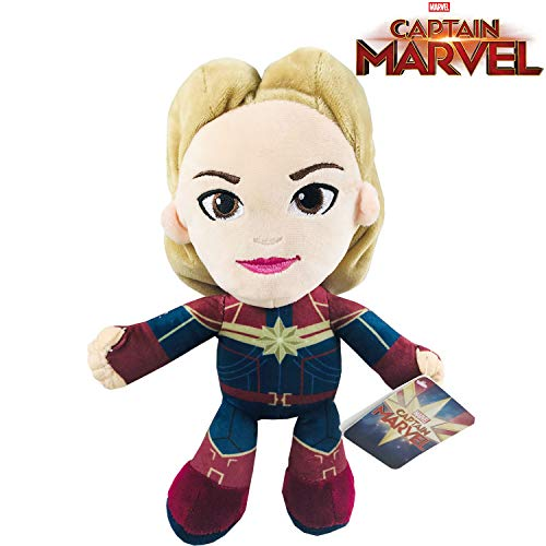 Play by Play Peluche Soft Captain Marvel Heroes Marvel 30cm - 760017797