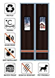 Liveinu Magnetic Thermal Insulated Door Curtain Storm Wind Fleece Insulation Curtian Magnetic Screen...