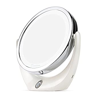 BROADCARE Lighted Makeup Mirror