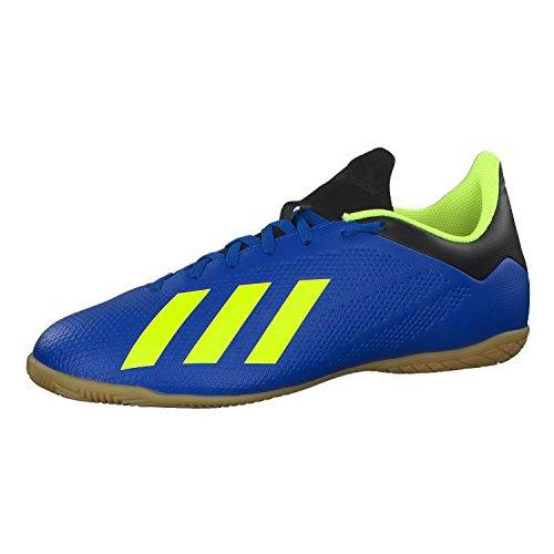 ADIDAS X Tango 18.4 IN, Zapatillas de Fútbol Hombre, Azul (Fooblu/Syello/Cblack Fooblu/Syello/Cblack), 44 2/3 EU