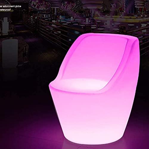 Paddia Taburete de luz LED Mood Light Silla Asiento Muebles para fiesta en el jardín LED Cuadrado Hogar Luminoso Bar Restaurante Lámpara de mesa Decoración de interiores Luz de noche Iluminación decor