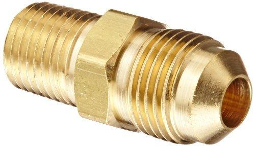 Eaton Aeroquip 2000-4-6B Brass Flared Tube Fitting 3//8 Male SAE 45 Degree x 1//4 Male Pipe Thread 3//8 Male SAE 45 Degree x 1//4 Male Pipe Thread Pack of 4 Adapter Eaton Products Pack of 4