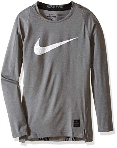 Nike Cool HBR Comp LS YTH T-Shirt für Kinder, Kinder, Cool Hbr Comp Ls YTH, S