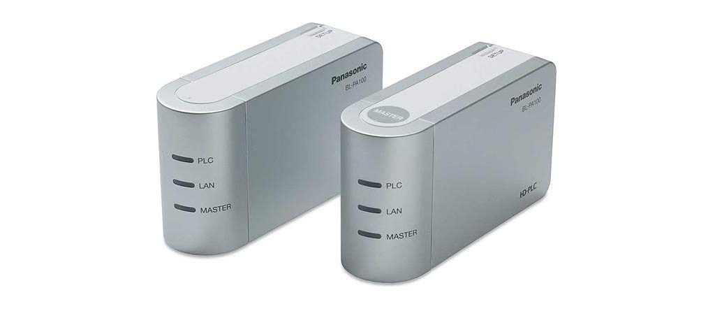 Panasonic HD-PLC Ethernet Adaptor Starter Pack - Accesorio de Red: Amazon.es: Informática