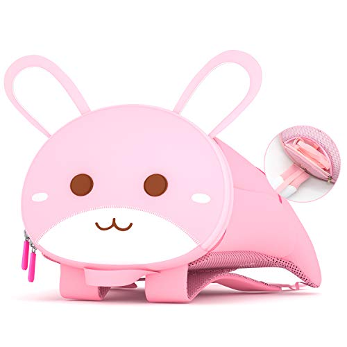 NOHOO Toddler Rabbit Backpack with Lion Wallet