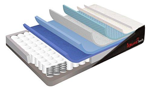 Amore Beds Best Hybrid Organic Cotton Medium Firmness Mattress (Queen)