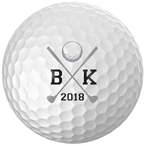 Personalized Initials Golf Balls - Customize The Initials (12 Balls)