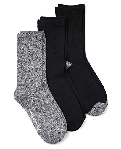 French Connection Casual Women's Socks (Black/Grey, Medium)