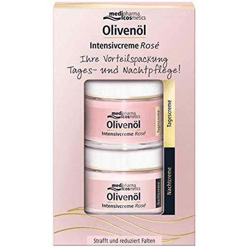 medipharma cosmetics Olivenöl Intensivcreme Rose Vorteilspack