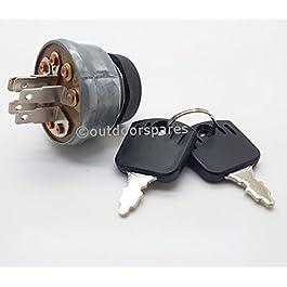 Mountfield Interrupteur d'allumage de rechange pour tondeuses autoportées Modèles RV25, 1228H