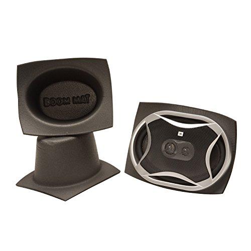 "Design Engineering 050370 Boom Mat Speaker Baffles, 6"" x 8"" Oval (Pack of 2)"