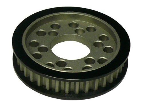 Aluminum 1Way for front pulley 36T (black) Tamiya TA05 & amp; Dorikon SP for STA-336WBK