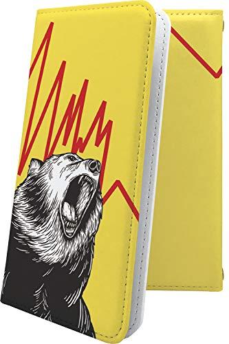 スマートフォンケース・jetfon P6・互換 ケース 手帳型 キャラクター キャラ キャラケース クマ 熊 ジェットフォン 動物 動物柄 アニマル どうぶつ jetfonp6 かわいい 可愛い kawaii lively