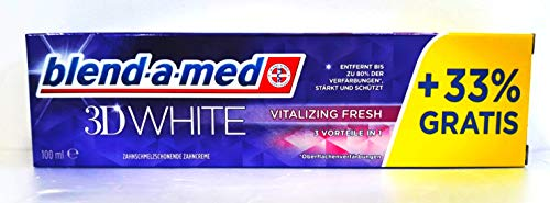 Blend-a-med Zahncreme 3D White Vitalizing Fresh, 150 g