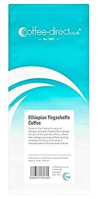 Coffee Direct Ethiopian Yirgacheffe Coffee Beans 454 g
