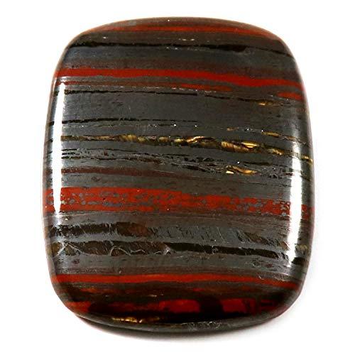 Gems&JewelsHub Cabujón de hierro ojo de tigre octogonal natural de piedra preciosa suelta 58.15 quilates NW100