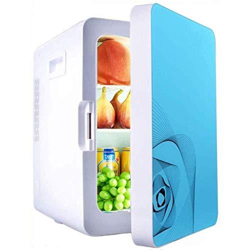 Studentenwohnheim Gekoeld, stille desktop-minibar vrieskasten autokoelkast 20L mini-auto met laag stroomverbruik, kleine koelkast Home Dual Use (kleur: A)