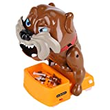 SH-RuiDu Plastic Flake Out Bad Dog Bones Cards Tricky Children Toy Games for Parent-Child Kid Play Fun