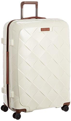 [ストラティック] スーツケース ジッパー レザー&モア 大型 グッドデザイン賞 保証付 100L 75 cm 4.36kg ミルク
