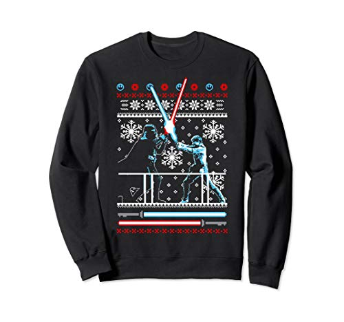 Star Wars Vader Luke Duel Ugly Christmas Sweater Sweatshirt