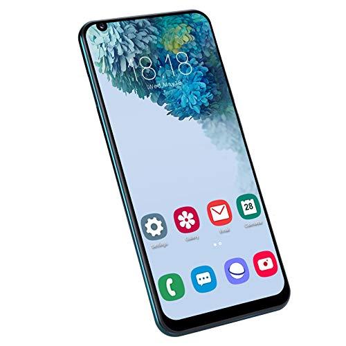 Comdy Smartphone Ohne Vertrag Günstig, Dual SIM Handy Entsperrt Mobiltelefon mit 6.82 Zoll Wassertropfen Display, 4G, 2GB+16GB, 5MP + 2MP Kameras, 2500mAh Akku, Face/Fingerprint ID(Grün)