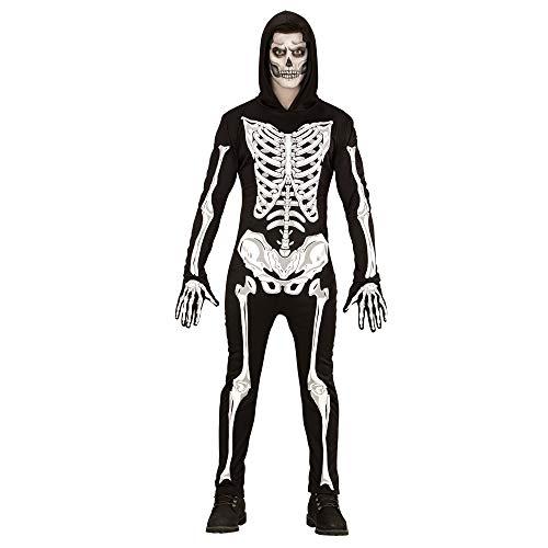 WIDMANN Disfraz Adulto de Esqueleto Glow in The Dark, Mono c