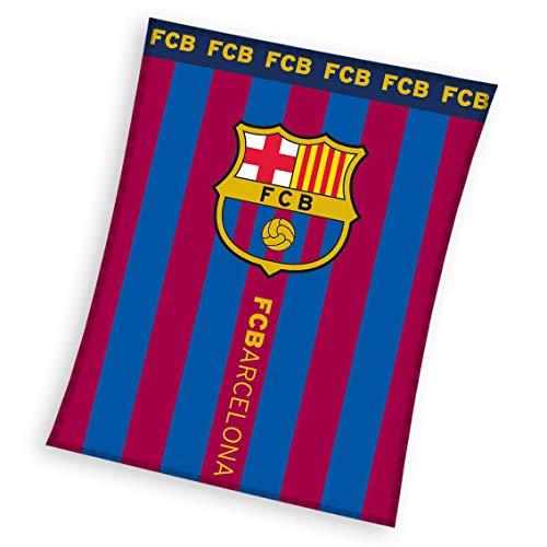Barcelona FC - Manta Polar Barcelona FC Rayas 110