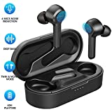 Wireless Earbuds, Upgraded Mpow M9 4-Mic Noise Cancelling Ture Bluetooth Earbuds V5.0 Touch