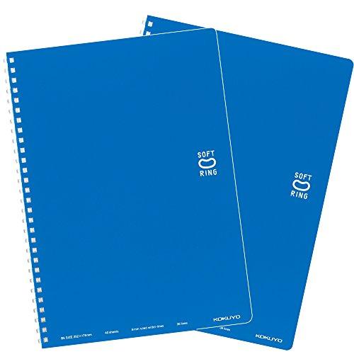 コクヨ ノート ソフトリング 2冊 40枚 セミB5 ドット罫 ス-SV301BT-BX2