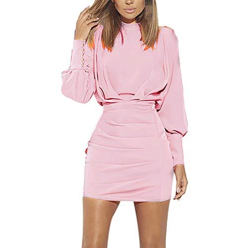 Vectry Vestidos para Niña Vestidos Largos De Verano Casual Vestidos De Fiesta Cortos Elegantes para Bodas Moda Mujer 2019 Rebajas Vestidos Vestidos Mujer Verano 2019 Vestidos Vestidos Rosa