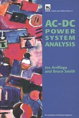 Ac-DC Power System Analysis