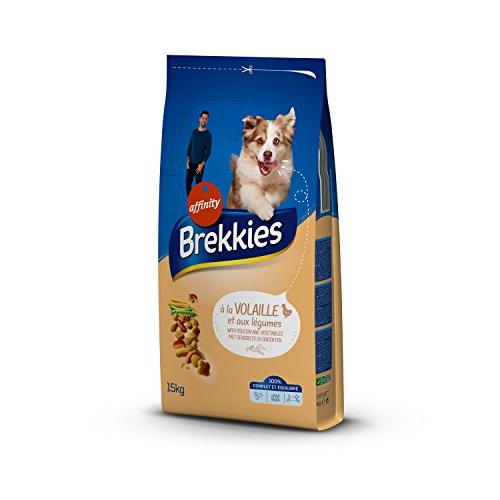 Brekkies Excel Croquettes pour Chien Adulte Multicroc Volaille 15 kg