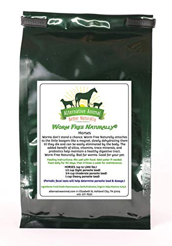 Alternative Animal Worm Free Naturally Horse Wormer - Natural Horse Wormer