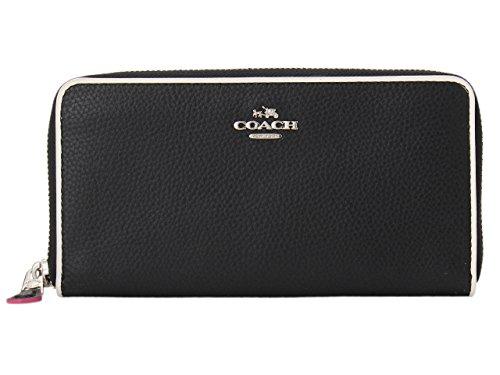 [コーチ] COACH 財布 (長財布) F12585 ブラックマルチ レザー SV/M2 長財布 レディース [アウトレット品] [並行輸入品]