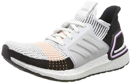 adidas Women's Ultraboost 19 W Running Shoes, White (Crystal White/Crystal White/Core Black Crystal White/Crystal White/Core Black), 4 UK