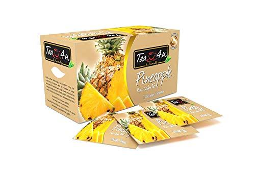 Tea4U Pineapple Black Tea Bags - Original Ceylon Tea
