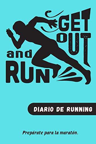 Diario de running: Planea tus correr y luego evalúa tu progreso hacia tus metas. Prepárense para el maratón. Libro de registro del entrenamiento ... velocidad,frecuencia cardíaca, Regalo ideal