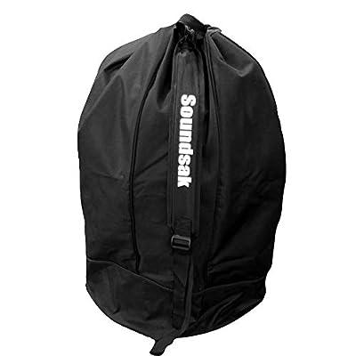 SoundSak Universal Speaker Carry Transport Bag PVC Shoulder Strap DJ Equipment