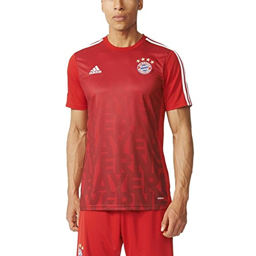 adidas Herren FC Bayern Heim Pre-Match Trikot (S)