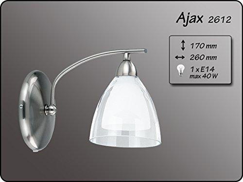 Moderne wandlamp 1x40W/E14 AJAX 2612 Alfa