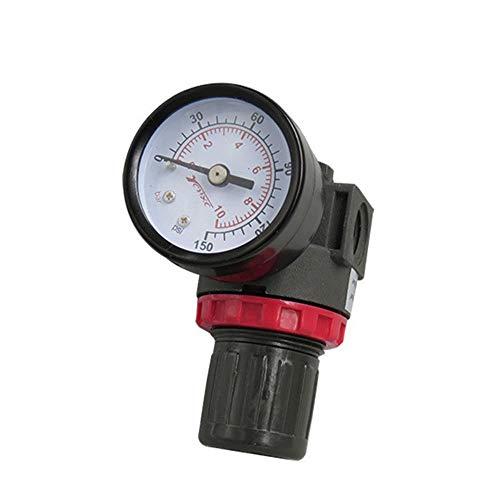 YEZIO Neumático- Bomba neumática del regulador de presión, compresor de Aire Regulador de presión del regulador de Aire Portátil (Size : (1/8PT))