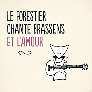 Le Forestier chante Brassens et l'amour