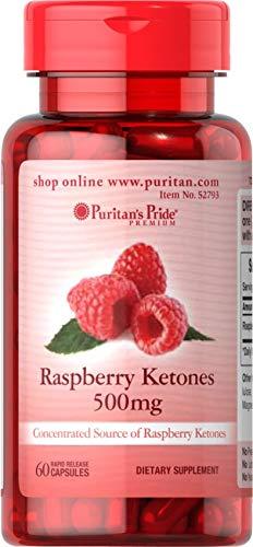 Puritans Pride Raspberry Ketones, 500 Mg, 60 Count