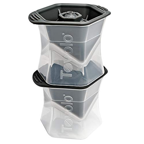 Tovolo Leak-Free, Slow-Melting Colossal 2.25-Inch Cube Ice Silicone...
