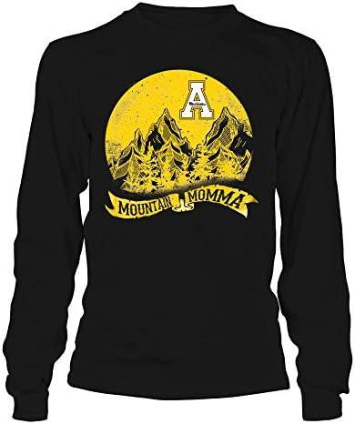 FanPrint Appalachian State Mountaineers T Shirt Mountain Momma Moon Slogan Ribbon Longsleeve product image